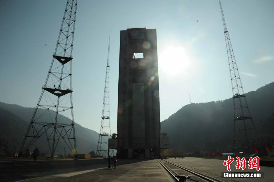 A view of the Xichang Satellite Launch Centre from 2013.
