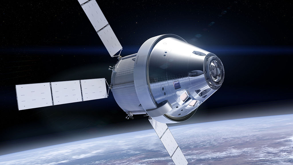 NASA's Orion spacecraft with a module based on Europe's Automated Transfer Vehicles (ATV)