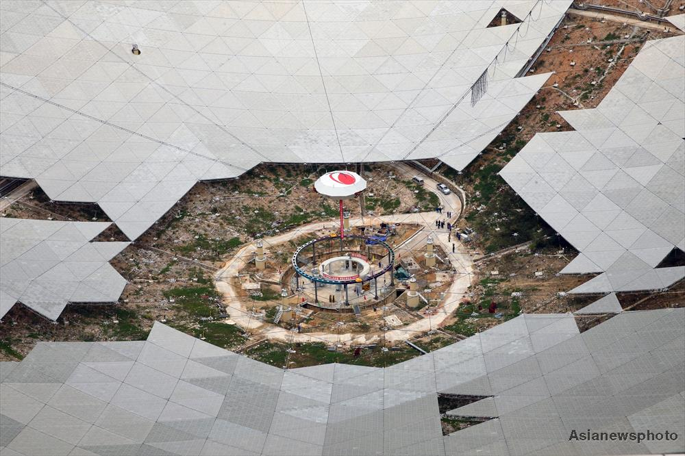 The feed cabin supporting system of China's single-aperture spherical telescope