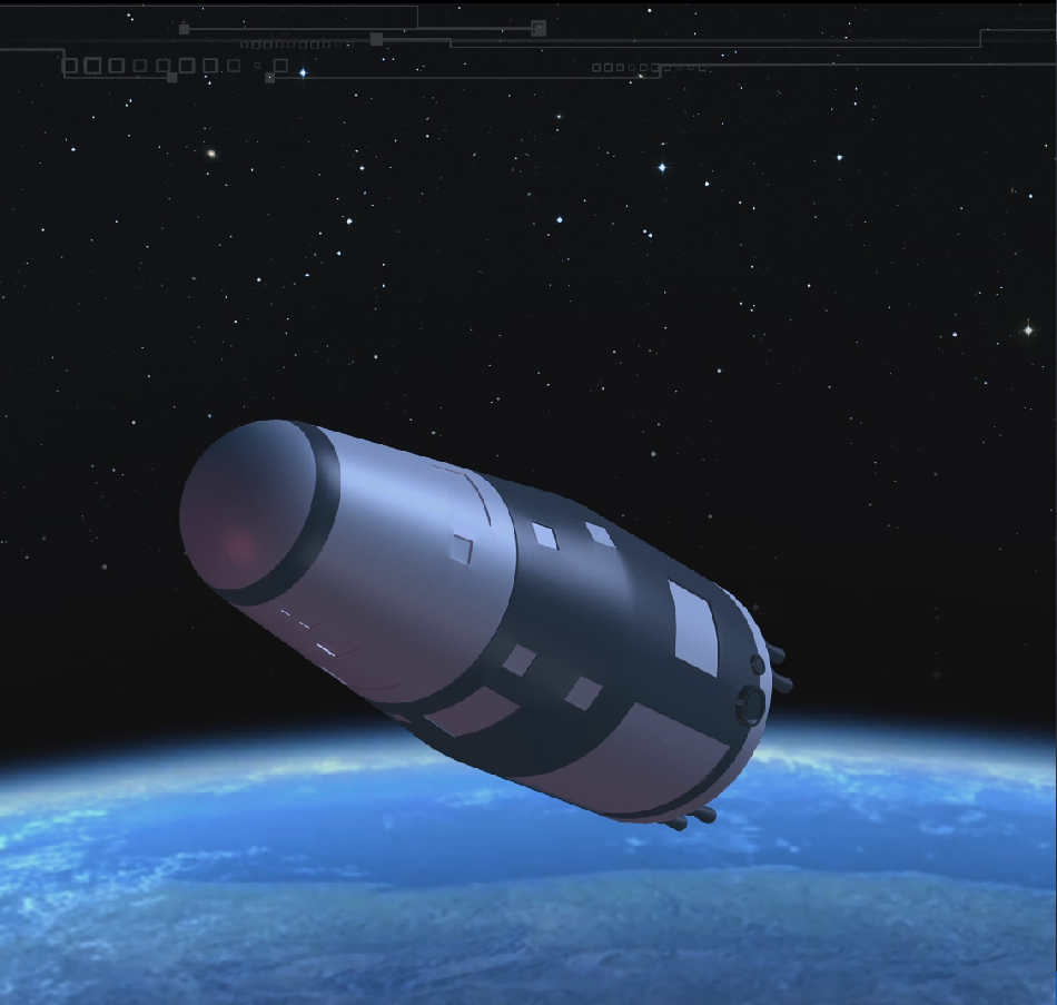 An artist's conception of China's Shijian-10 retrievable probe, set for launch in 2016 (Image: NSSC)