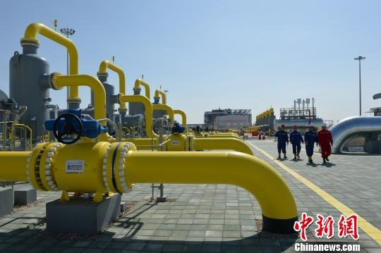 China-Central Asia Gas Pipelines.