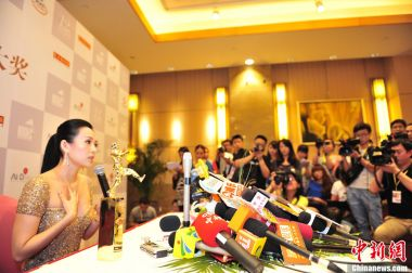 Actress Zhang Ziyi is China's pride