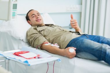 Donate blood, save a life... simple as that