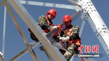 Qinghai-Tibet power grid project wins industrial top award