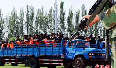 Xinjiang sentences nine people to death for terrorism acts