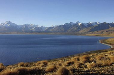 Tibet's sacred lake Baiku Co