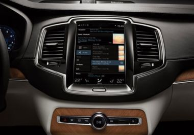 Volvo launches first fully new model under parent Geely