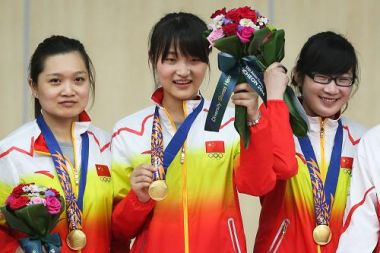 China trio wins first gold at Incheon Asian Games