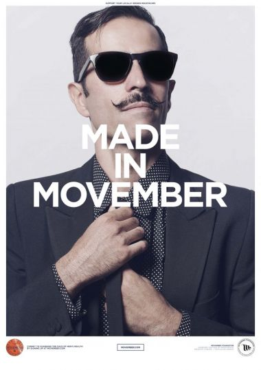 Men's health on everyone's lips throughout Movember