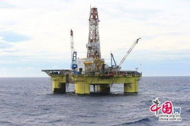 Chinese oil platform drills the deepest well in South China Sea