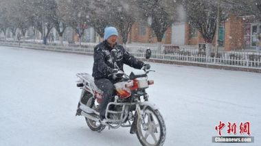 Blizzard hits northwest China's Xinjiang