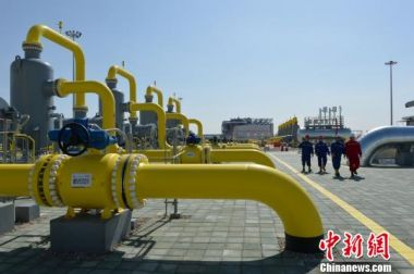 65 million tonnes of gas delivered by China-Central Asia pipelines