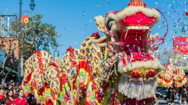 The dragon dance through the ages