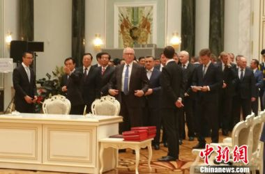 Belarus officials queue to sign contracts with Chinese President Xi