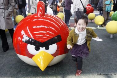 Angry Birds in China