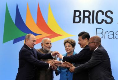 China floats idea of BRICS free trade area