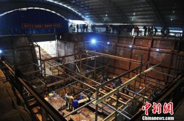 Excavation of 2,000-year-old Chinese tomb completed