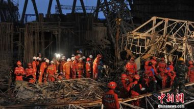 Nine arrested over deadly Chinese power plant accident
