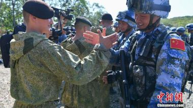 Russia and China hold anti-terrorism competition in Vladivostok