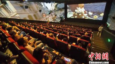 China has 49,000 cinema screens, solidifying its place as world leader