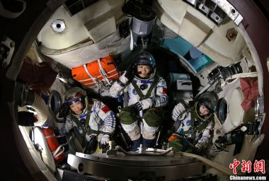 China's astronauts are in training for space station missions