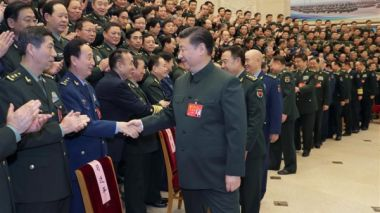 Xi Jinping calls upon military to build a stronger army