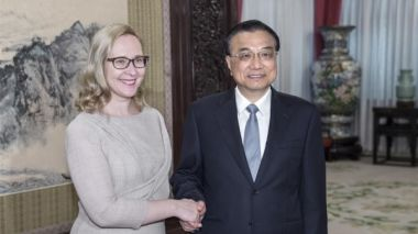 Li Keqiang: China to enhance cooperation with Finland