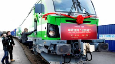 New Silk Road train link connects Finland, Nordic countries with China