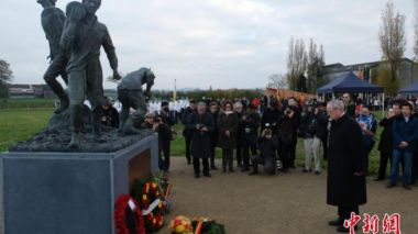 Belgium and UK commemorate WW1 Chinese Labour Corps 'neglected from history'