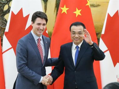 Canada and China to advance free trade