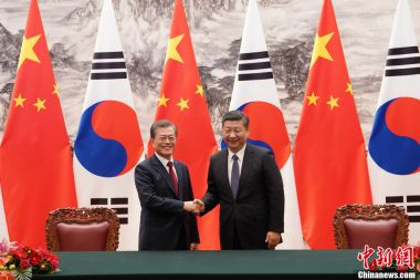 Beijing, Seoul pledge to seek healthier ties