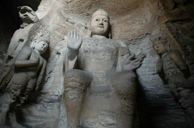 3D-printed Buddhist statues displayed in China