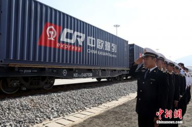 China runs 11,000 'Silk Road' trains to Europe