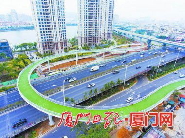World's longest aerial bike lane to open in China