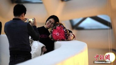 Chinese spending on Valentine's Day goes up