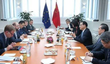 China wants early summit with EU to send signal to Trump