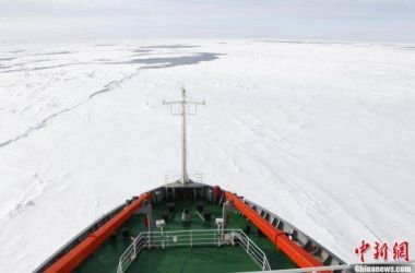 Chinese icebreaker completes 161-day Antarctic expedition