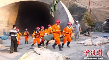 12 killed in SW China tunnel explosion