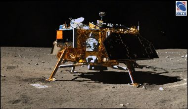 The Chang'e-3 lunar lander is still waking up after nearly five years on the Moon