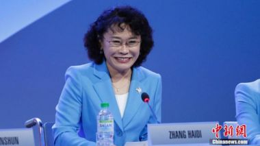 China's Zhang Haidi nominated for International Paralympic Committee president