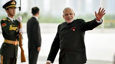 India's Modi arrives in China for informal summit with Xi