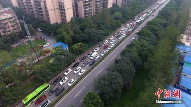 Motorists face traffic gridlock as China's Golden Week begins