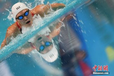 Chinese swimmer completes extra 50m at world championships