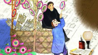 A Chinese New Year money-spinner? Beijing's lucky Spring Festival pinwheels