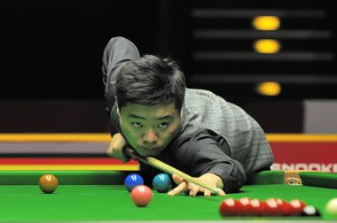 Ding Junhui crashes out of snooker's UK Championship