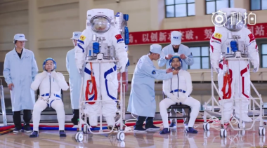 China's human spaceflight centre releases astronaut training footage