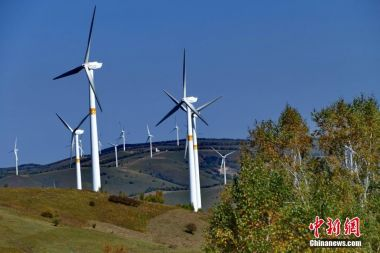 Clean energy generation capacity sees rapid growth in China