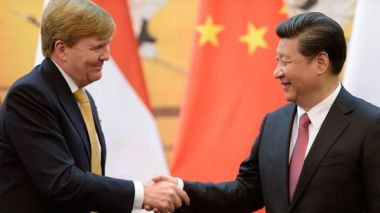 Dutch king begins two-day China visit