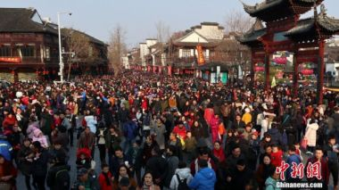 China sees robust tourism growth during Spring Festival