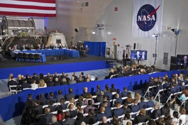 US space policy meeting highlights China's space programme as threat, competition and opportunity